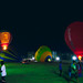 Hot Air Balloon under lights