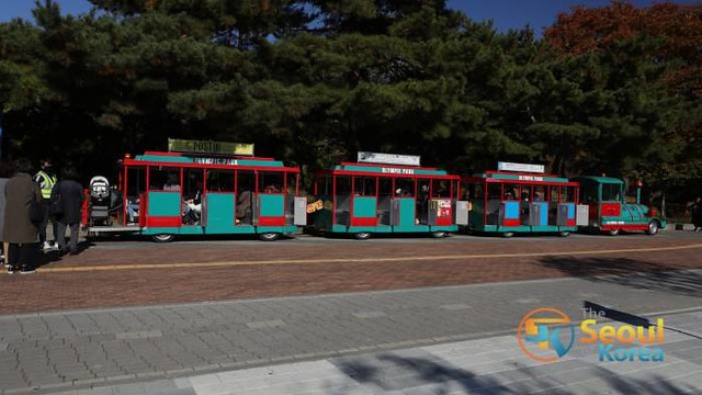 Seul Olimpiyat Parkı Mini Tren Turu 2