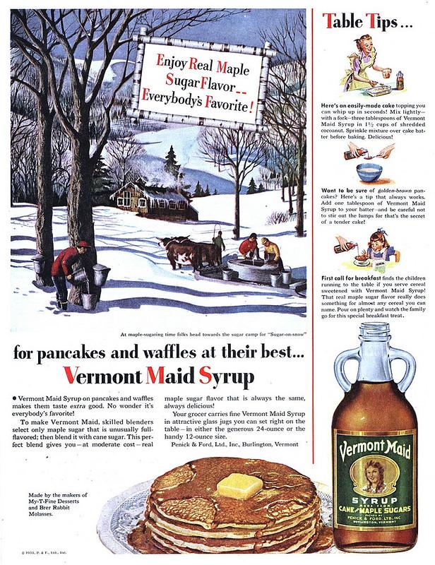 Vermont Maid 1951
