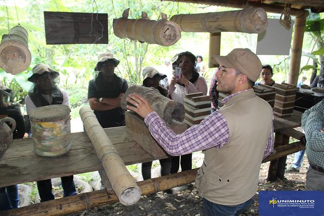 Taller de abejas nativas en el Agroparque Sabio Mutis