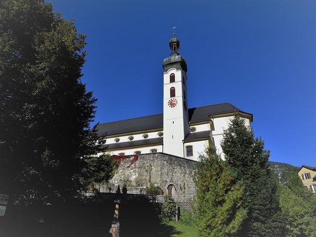 Tschagguns, Vorarlberg Parish church, Sony DSC-HX60V, Minolta AF 28-85mm F3.5-4.5 New