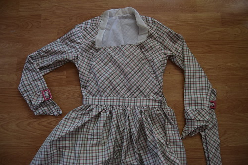 Plaid Dress Fastenings 5