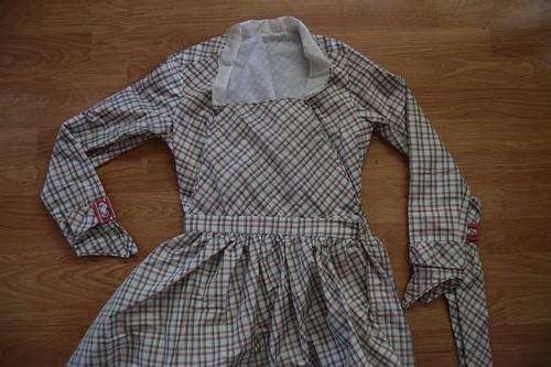 Plaid Dress Fastenings 5