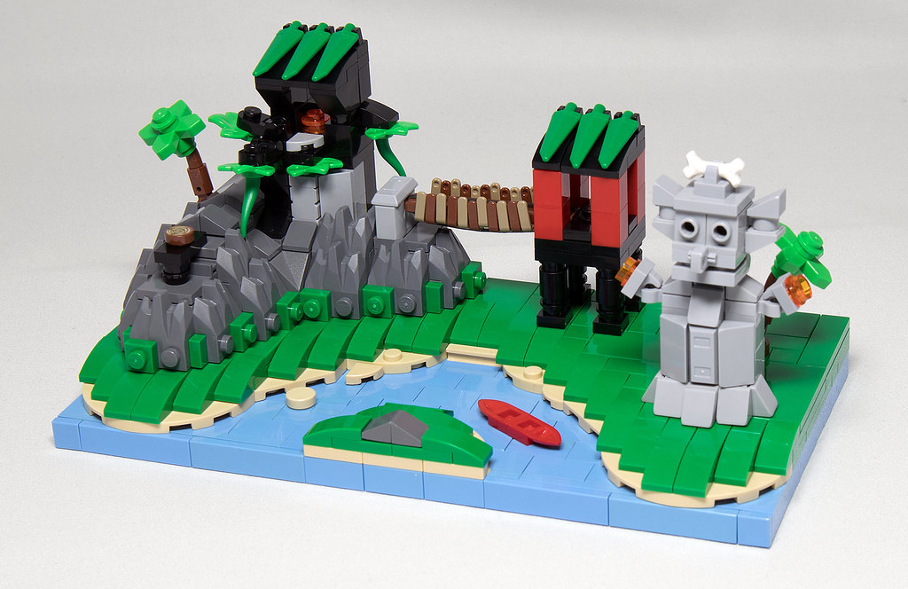 LEGO® MOC by Vitreolum: 6278 Enchanted Island Micro