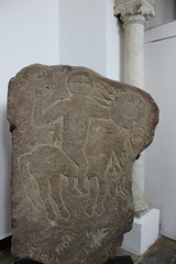 Phoenician Tombstone, Punic period 700-300 BC, Mujahid Museum