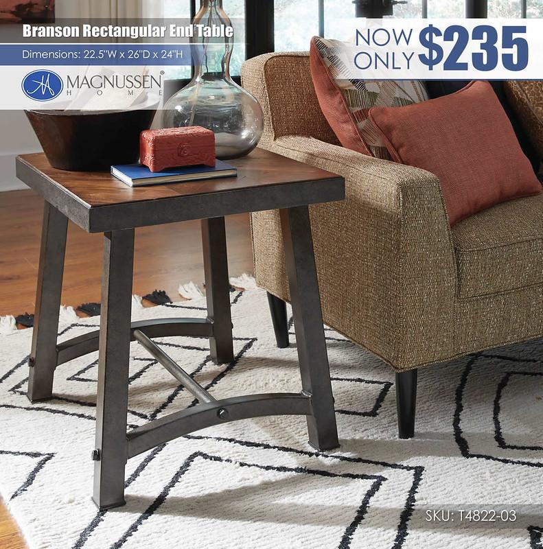 Branson Rectangular End Table_T4822-03