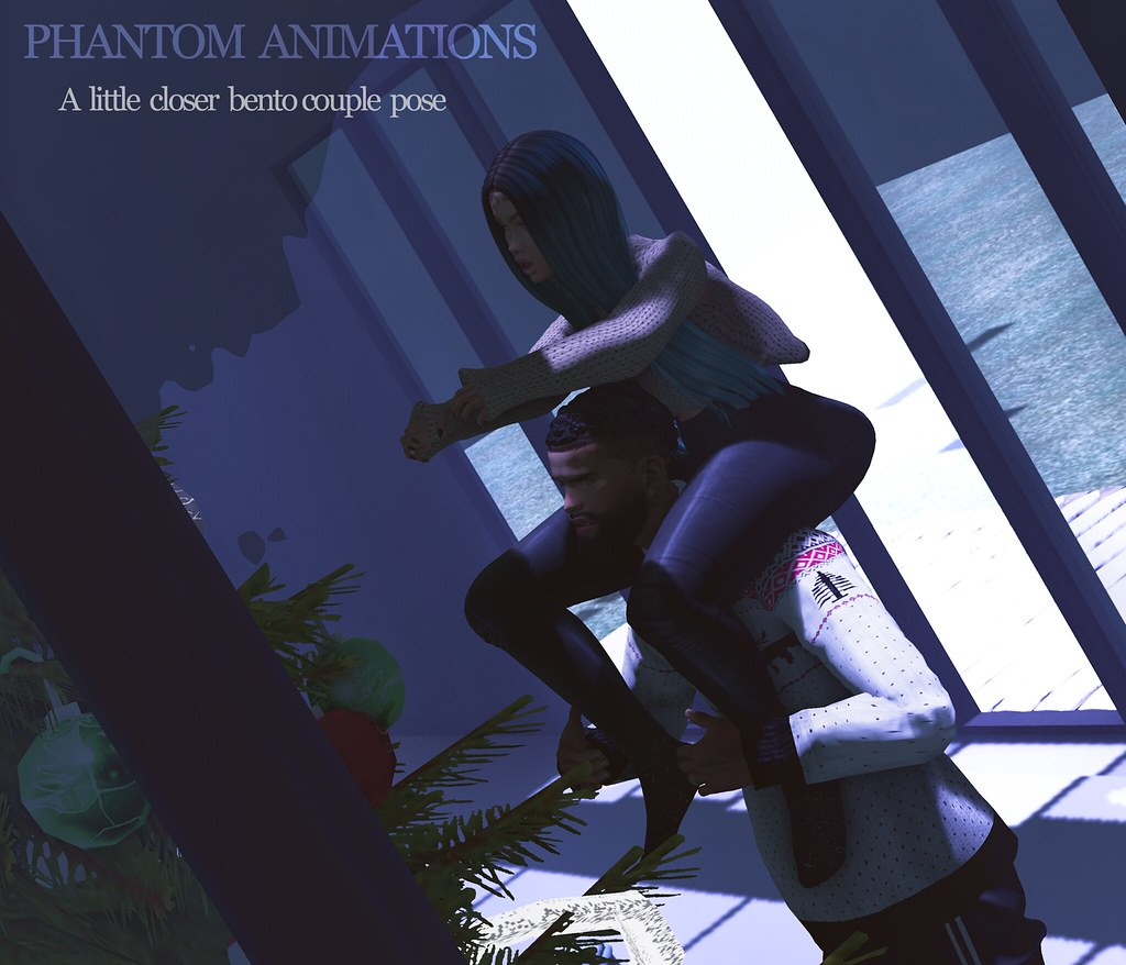 Phantom Animations – A Little Closer Couple Pose