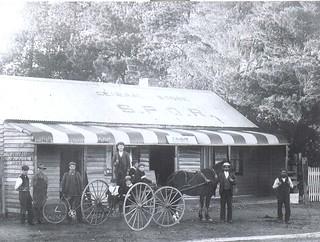 Charles Allalooks Store in Tarago circa 1890