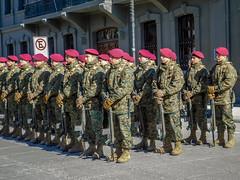 Sunday military parade- Punta Arenas, Chile