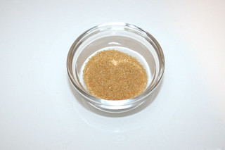 09 - Zutat brauner Zucker / Ingredient brown sugar