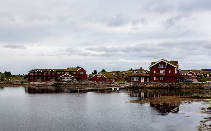 hyvä hotelli Norja Atlantic road Hustadvika Gjestehus Fræna lomakylä