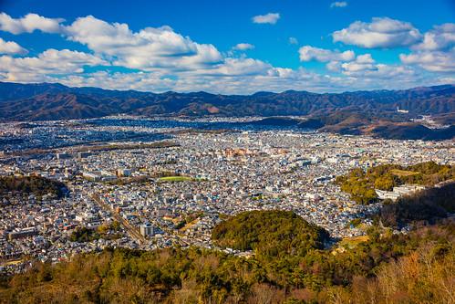 Sunlight            from Mt.Daimonji