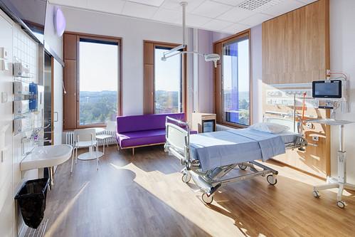 _MS_8902_HDR_病房,家人可以睡旁邊的沙發床