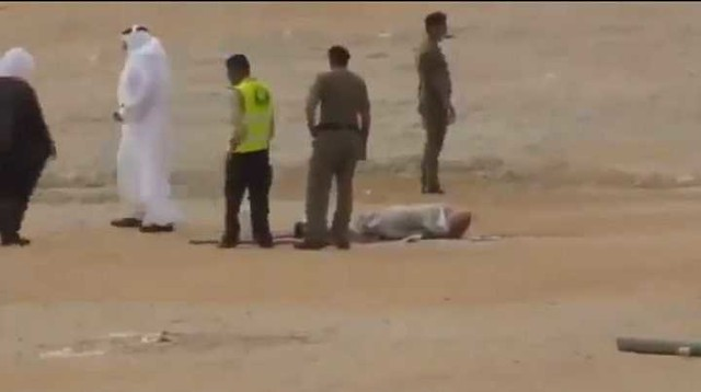 4080 A drunk Saudi driver who killed 6 members of a family executed in Riyadh 02