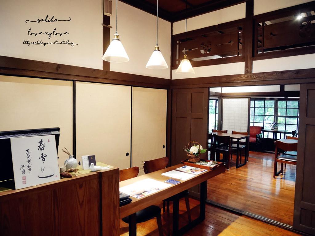 台北古亭站附近不限時日式咖啡廳下午茶推薦雅鴿書院 (15)