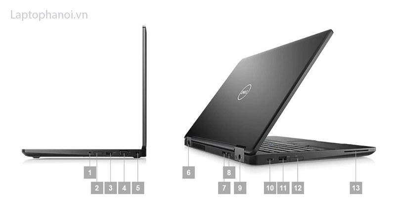 cổng kết nối trên Dell 5590