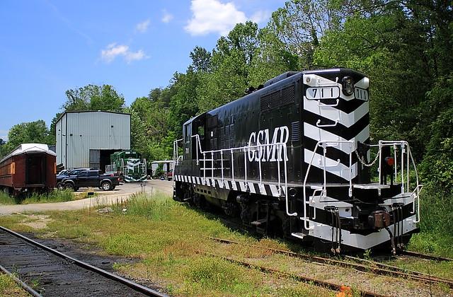 Great Smokey Mtn.Railroad GSMR 711 (GP9) Dillsboro, North Carolina