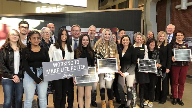 Bright future for solar power in Alberta schools