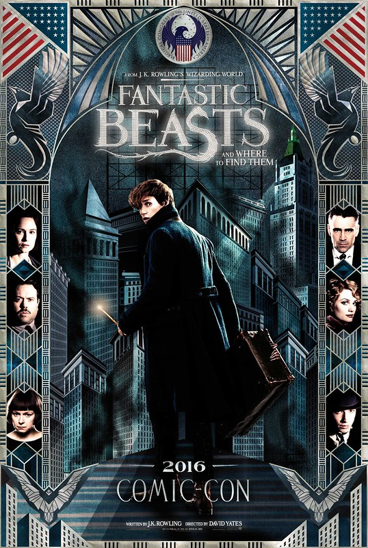 Fantastic Beasts and Where to Find Them - Poster 3