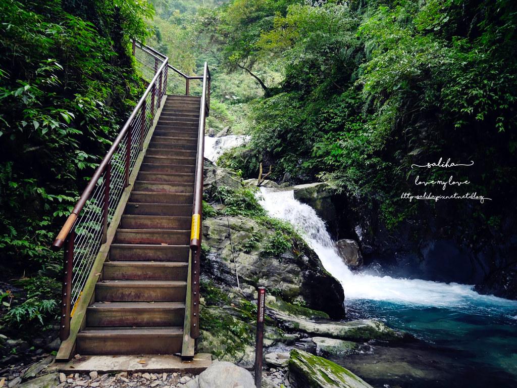 宜蘭絕美瀑布旅遊兩天一夜旅行行程景點推薦新寮瀑布步道 (2)