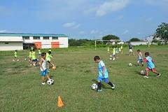 Escuelas Deportivas del GADM Chone en acción