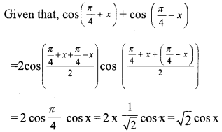 Plus One Maths Model Question Papers Paper 2A2
