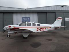 G-CIOY Beech Bonanza G36 (Bonanzair Ltd)