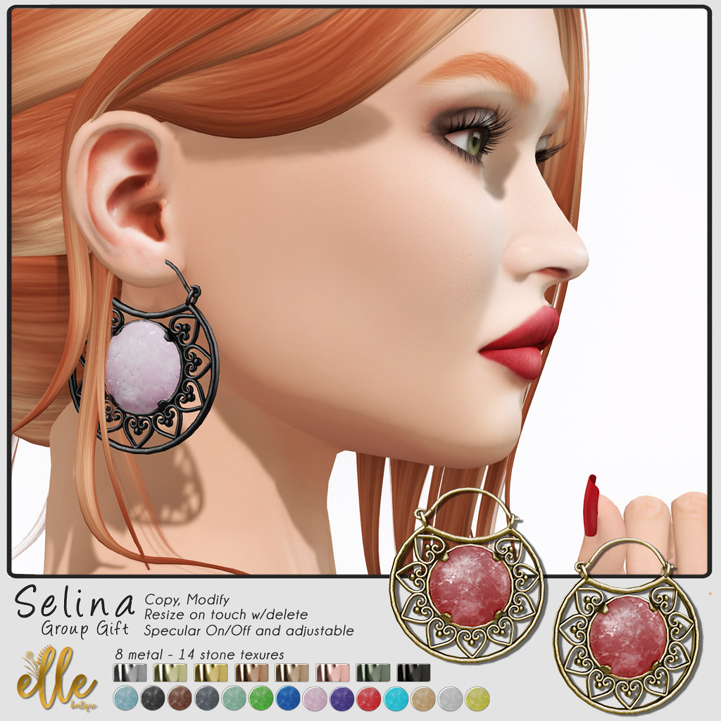 Elle Boutique – Group Gift  Selina Earrings
