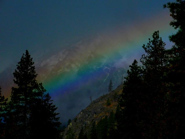 Rainbow Over 4th of, Nikon COOLPIX B500
