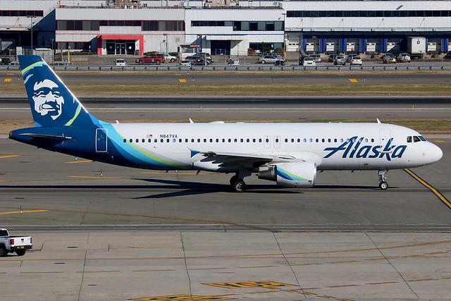 N847VA | Airbus A320-214 | Alaska Airlines