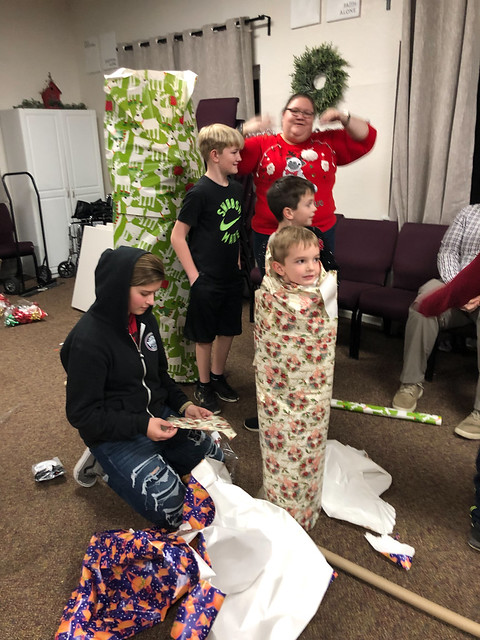 Student Ministry Christmas Party 2018