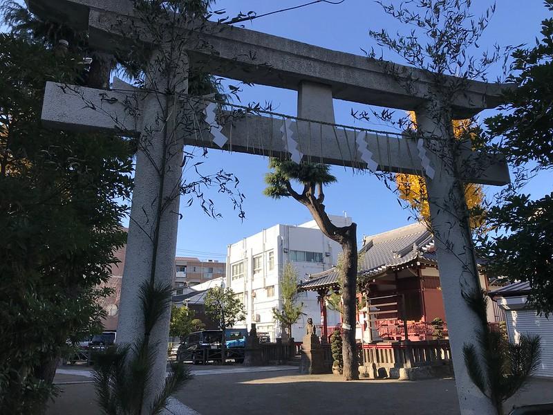 原稲荷神社の初詣