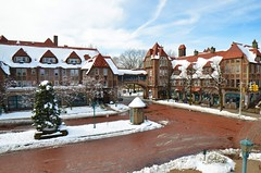 Station Square In A Little Bit Of Snow