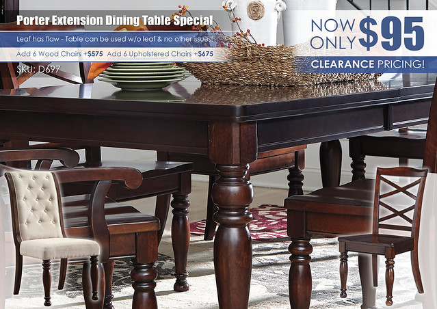 Porter Extension Table Special_D697