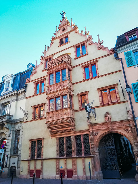 · Qué ver en Colmar en un día · Colmar en Navidad · Maison des Tetes ·
