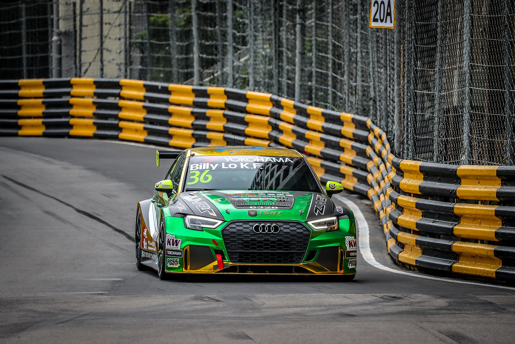 36 Lo Kai Fung (MAC), Tian Shi Zuver Team, Audi RS 3 LMS, action during the 2018 FIA WTCR World Touring Car cup of Macau, Circuito da Guia, from november  15 to 18 - Photo Alexandre Guillaumot / DPPI