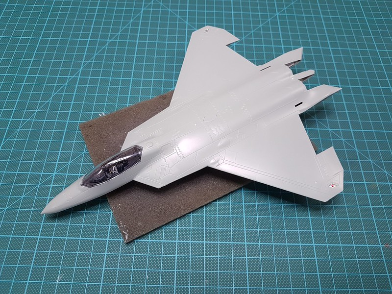 Academy 1/72 F-22A Air Dominance Fighter - Sida 4 32241614778_e8d1a63f55_c