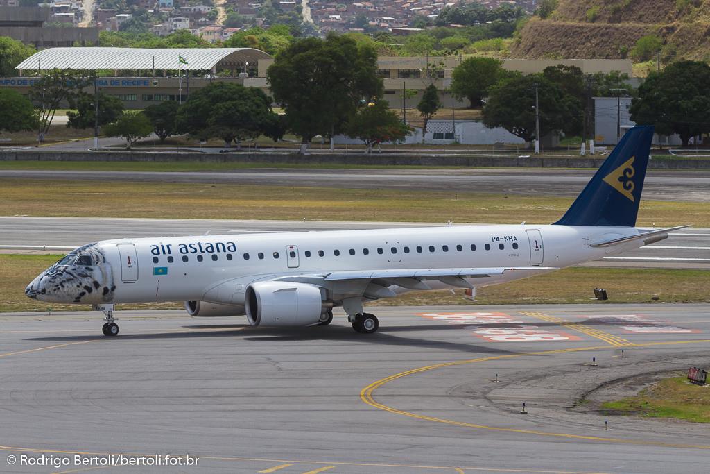 Air Astana Embraer 190 E2 P4-KHA