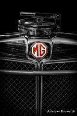 MG Grill Badge