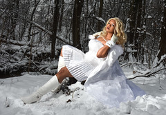 Coconut Jacobs _ Emma Frost cosplay _ Urban Cosplayers