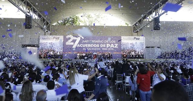 27 Aniversario de los Acuerdos de Paz.