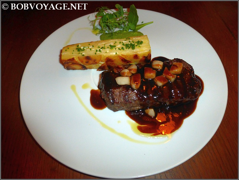 Steak Haché- סטייק האשה במסעדת קורדרו (Cordero)