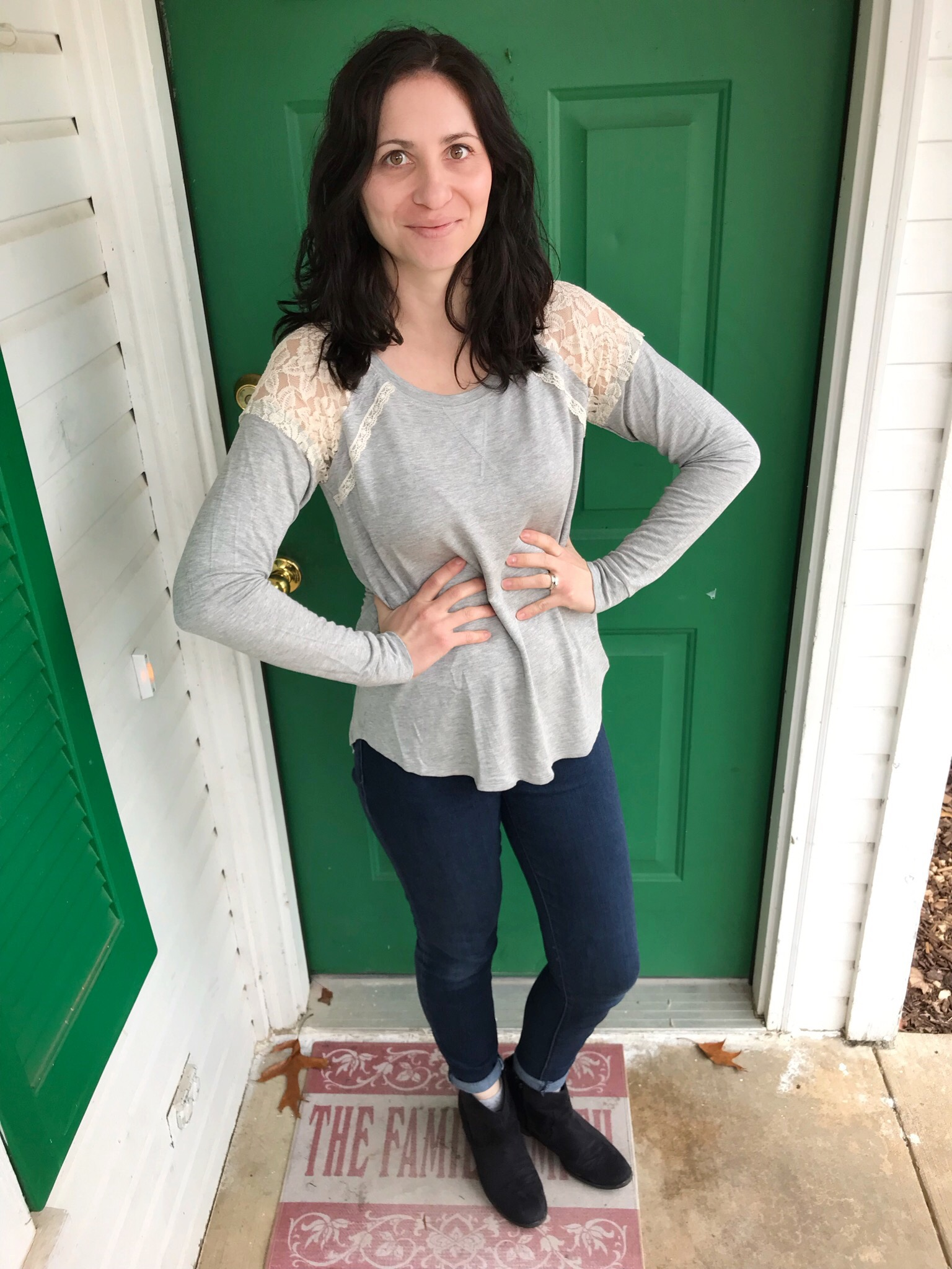 Stitch Fix #7 {sweater weather} on Work it Mommy blog
