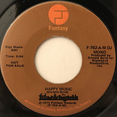 BLACKBYRDS:HAPPY MUSIC(LABEL SIDE-B)