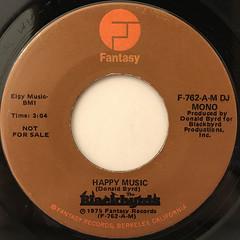BLACKBYRDS:HAPPY MUSIC(LABEL SIDE-B)
