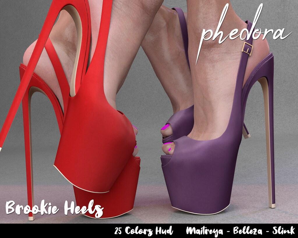 "Phedora. for FaMESHed ~ ""Brookie"" heels♥"