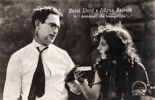 Harold Lloyd and Jobyna Ralston in Why Worry (1923)