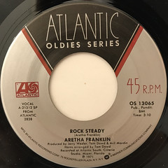 ARETHA FRANKLIN:ROCK STEADY(LABEL SIDE-A)