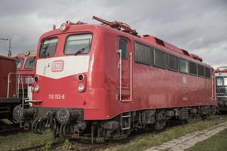 D DB 110 152-6 Koblenz 11-11-2018