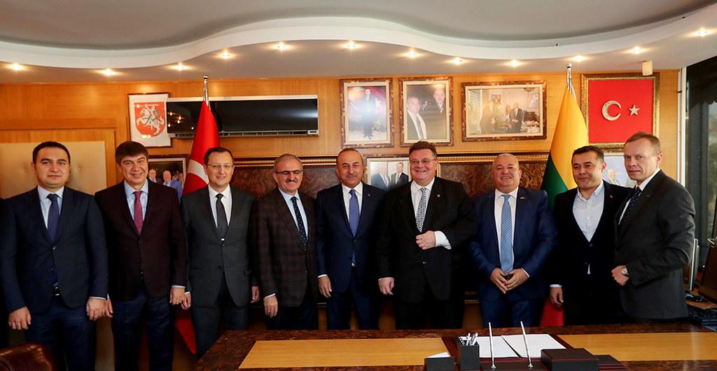 Yasin Emre, Menderes Türel, Münir Karaloğlu, Mevlüt Çavuşoğlu, Linas Linkevicius, Mehmet Şahin, Adem Murat Yücel